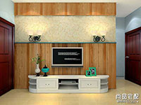 新中式客厅隔断设计怎么做?