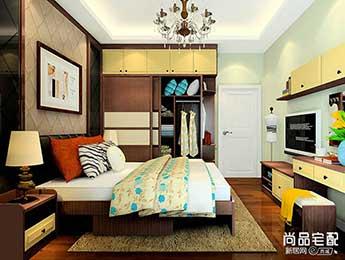 卧室壁纸装修效果图2017