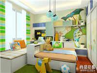 儿童房装修样板间设计需要注意这些问题!