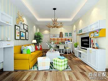 客厅灯饰装修效果图设计
