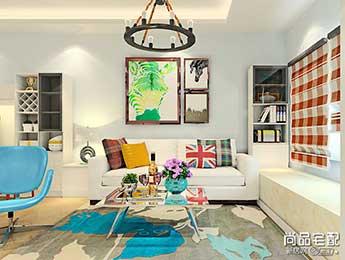 时尚布艺沙发这样搭配,给自己涨脸给客厅涨颜值