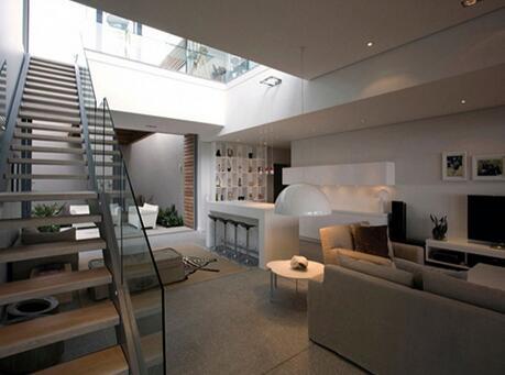 别墅楼梯坡度一般是多少