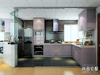 开放式厨房隔断图片