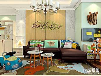 墙纸设计效果图和风格欣赏