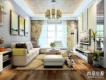 有哪些好看的客厅兼书房装修设计?