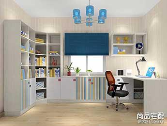 书房简易书桌效果图