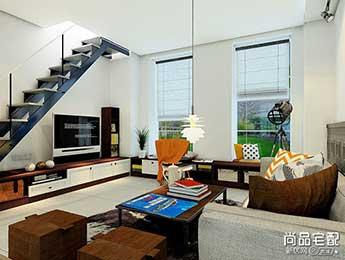客厅楼梯装修效果图