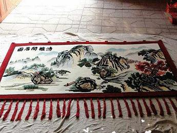 手工挂毯的价格