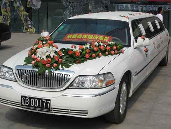 婚庆租车价目表