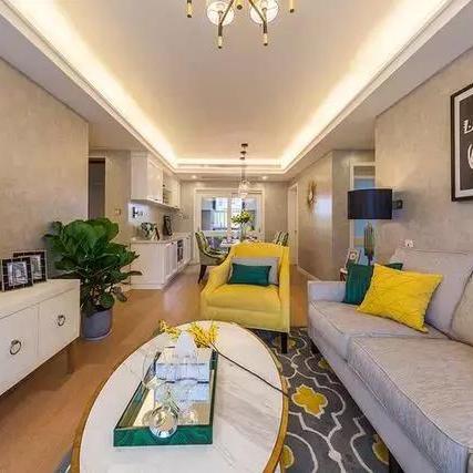 117平上海精装婚房装修设计