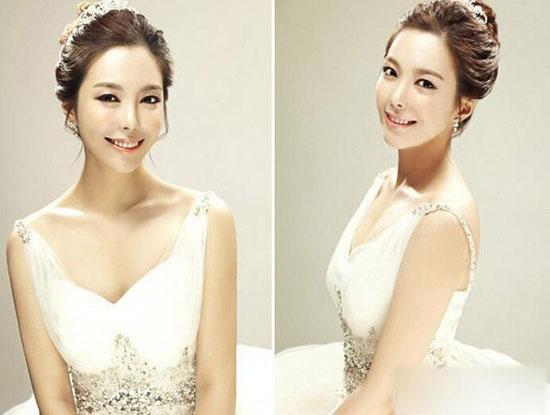 韩式新娘发型图片大全