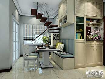 室内铁艺楼梯装修设计