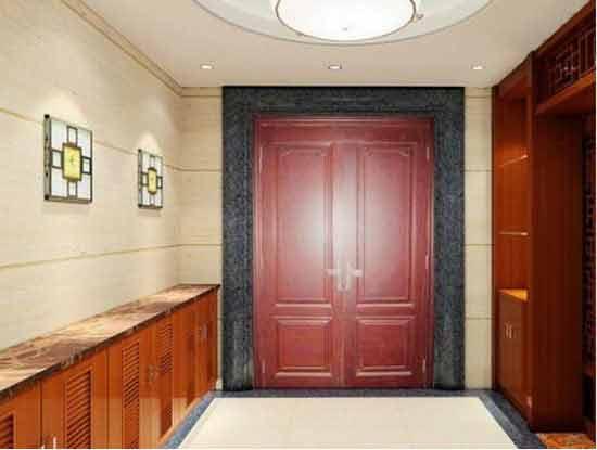 别墅客厅玄关装修效果图