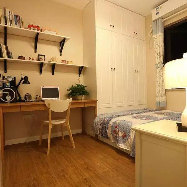 105平现代简约小清新三房装修