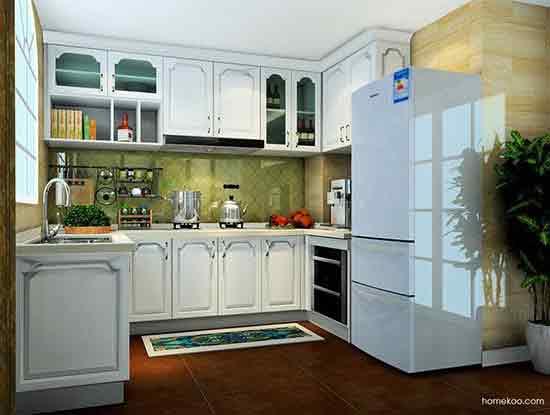 流行厨房设计图