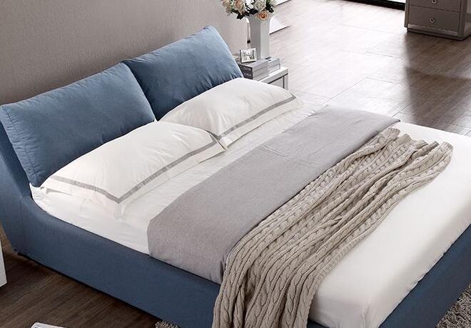 简约设计的布艺床好吗