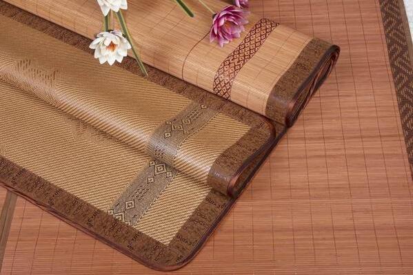 竹纤维凉席三件套,亲近自然好工艺