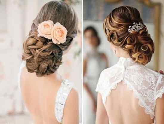 新娘盘发教程,做最美的新娘