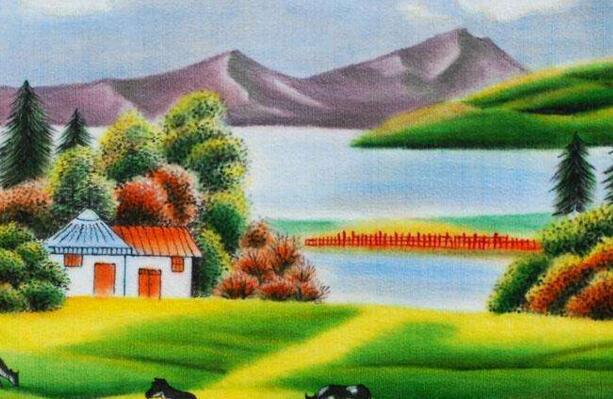 极具民族风情的的新疆品牌挂毯