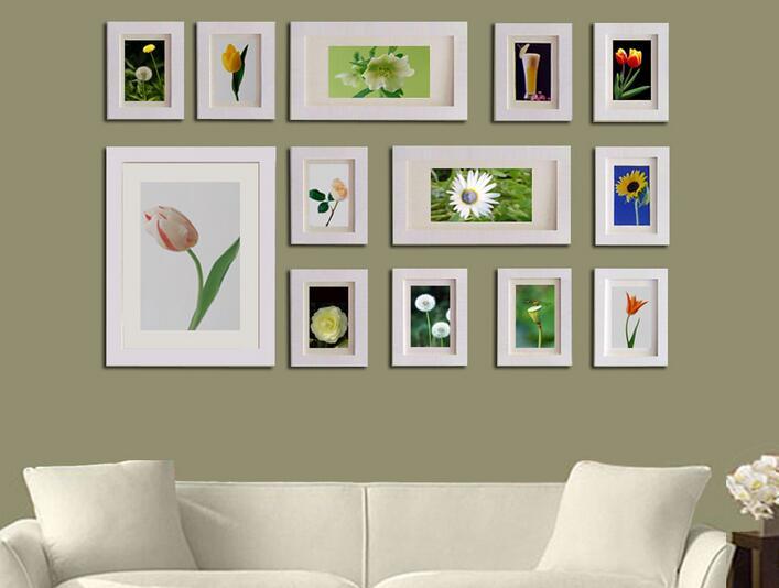 温馨室内照片墙效果图