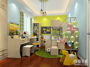 儿童房设计应注意什么