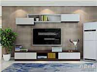 简约风格电视背景墙效果图