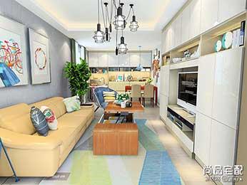 客厅现代吊灯设计搭配效果图