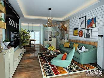 客厅简单吊顶效果图设计