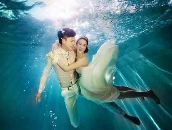 水下婚纱照价格