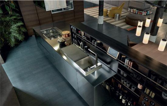 不锈钢整体厨房多少钱一米