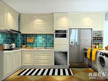 尚品宅配烤漆厨柜效果图
