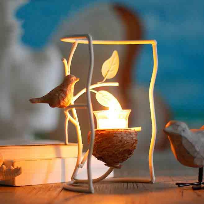 铁艺玻璃烛台怎么选?
