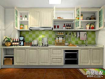 简欧风格装修效果图厨房