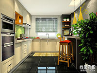半开放式厨房怎么设计?