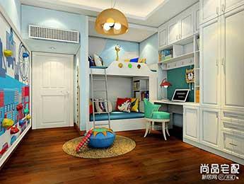 双人儿童房样板间是怎么设计的?