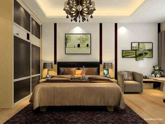 简欧卧室装修效果图,用卧室演绎浪漫人生!