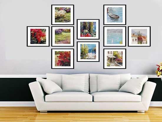客厅照片墙效果图,打造个性化的家居环境
