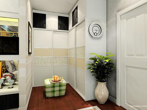 小型步入式衣帽间图片,打造温暖而迷人的卧室氛围