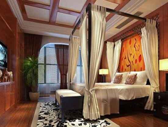 东南亚风格窗帘效果图,让生活焕然一新