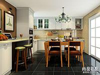 厨房吧台装修效果图