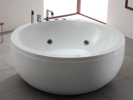 圓形浴缸效果圖