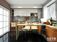 欧式开放式厨房吧台怎么设计比较好?