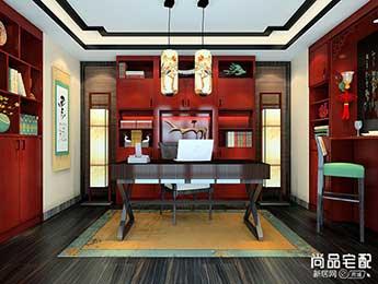 中式现代吊灯装修效果图