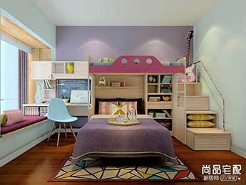 小空间儿童卧室设计怎么做?