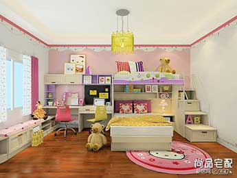这些儿童卧室装修设计好看吗?