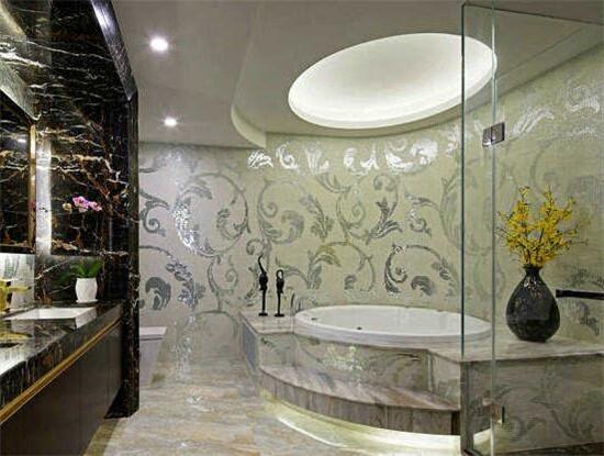 圆形浴缸装修效果图设计