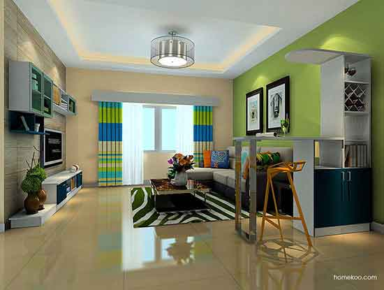 家装吧台设计案例图片,休闲娱乐极佳选择