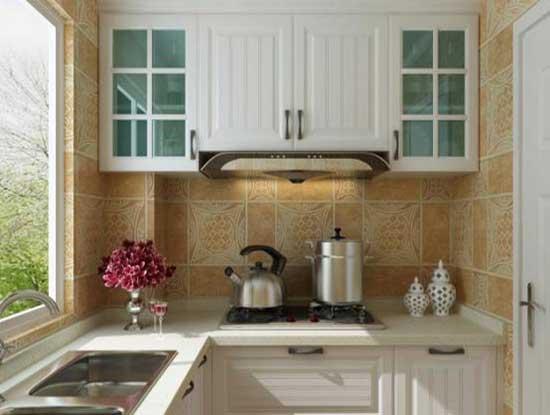 玻璃橱柜效果图图片,给你一个不一样的厨房