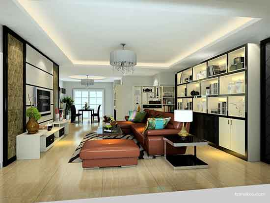 简约风格电视背景墙图片,美好的居家体验