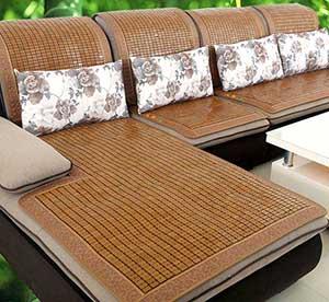 布艺沙发竹凉席坐垫好不好?